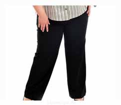 Выкройка женских брюк без боковых швов на резинке - YouTube | 211x243