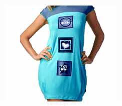 Готовая выкройка женского домашнего платья