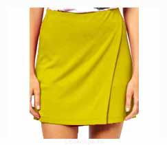 Короткая юбка на запах выкройка