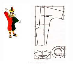 Как сшить костюм клоуна своими руками 831